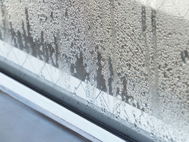 今日からはじめる窓の結露対策!