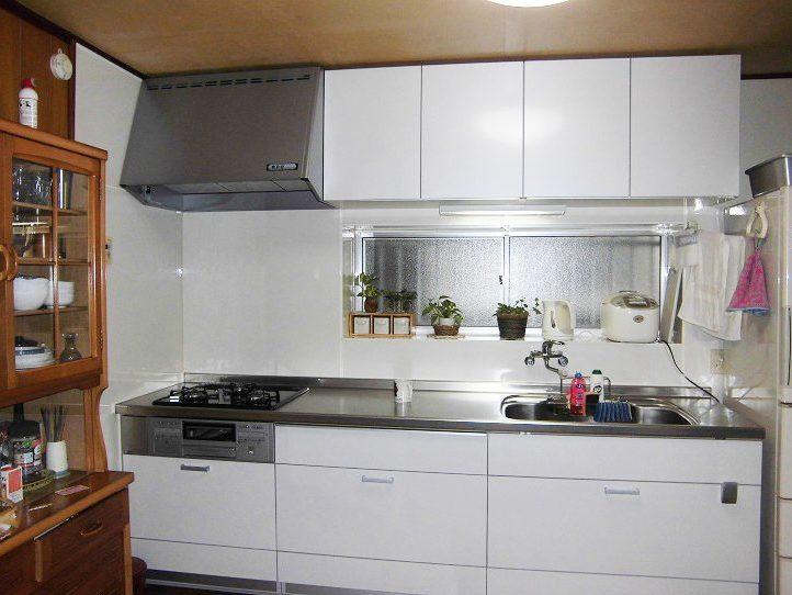リフォームで、明るく使いやすいキッチンに!