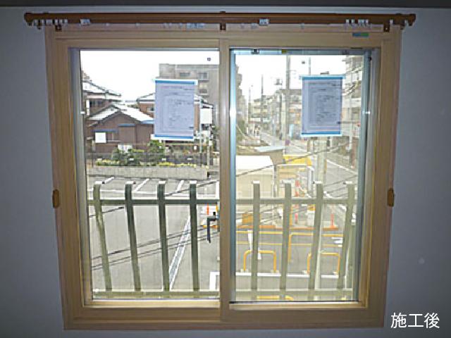 気密性の高い内窓+真空ガラスでしっかり防音!