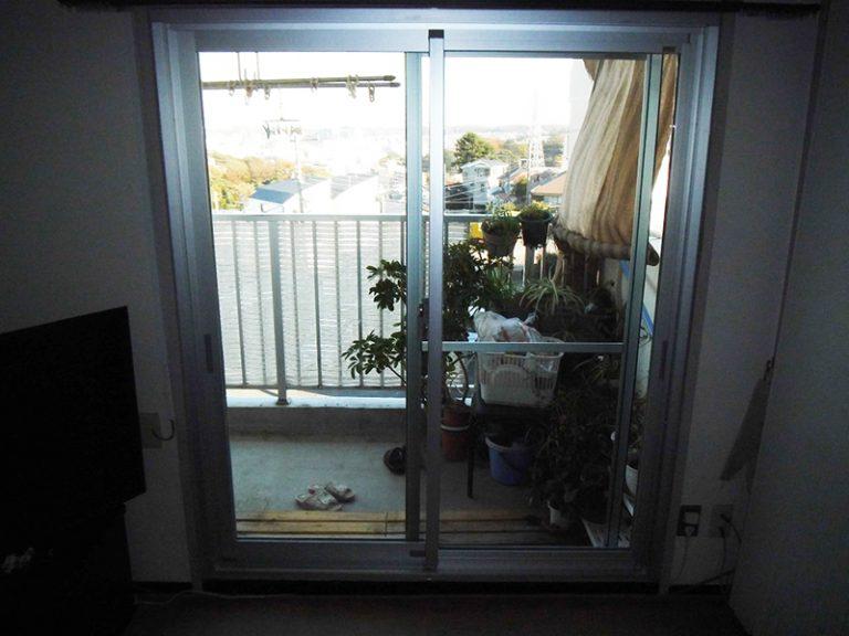 窓まるごと交換で、すきま風を解決!