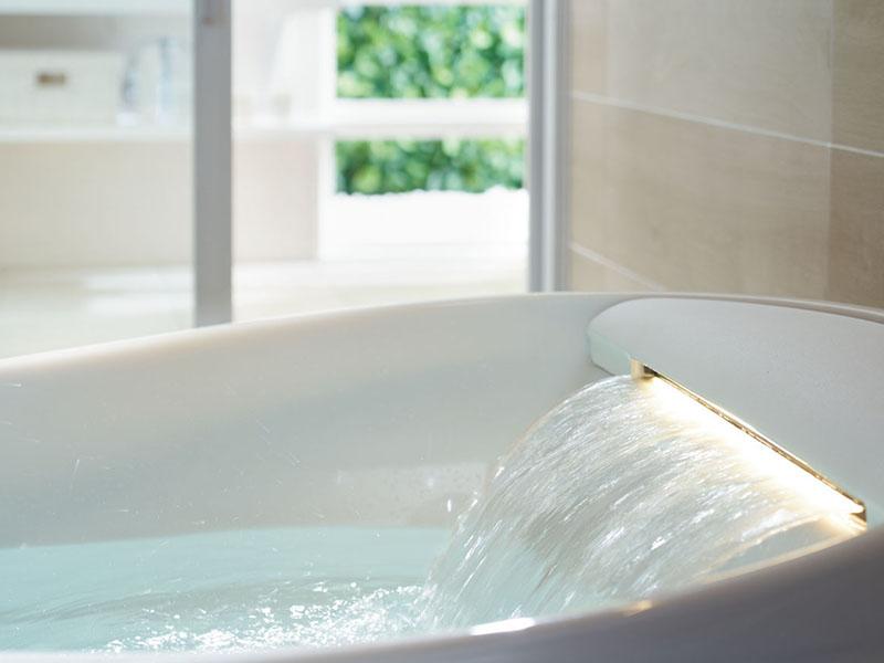 暑い夏こそ、お風呂でサッパリ!