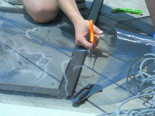 網戸の張り替えは自分で出来る?DIYの方法!