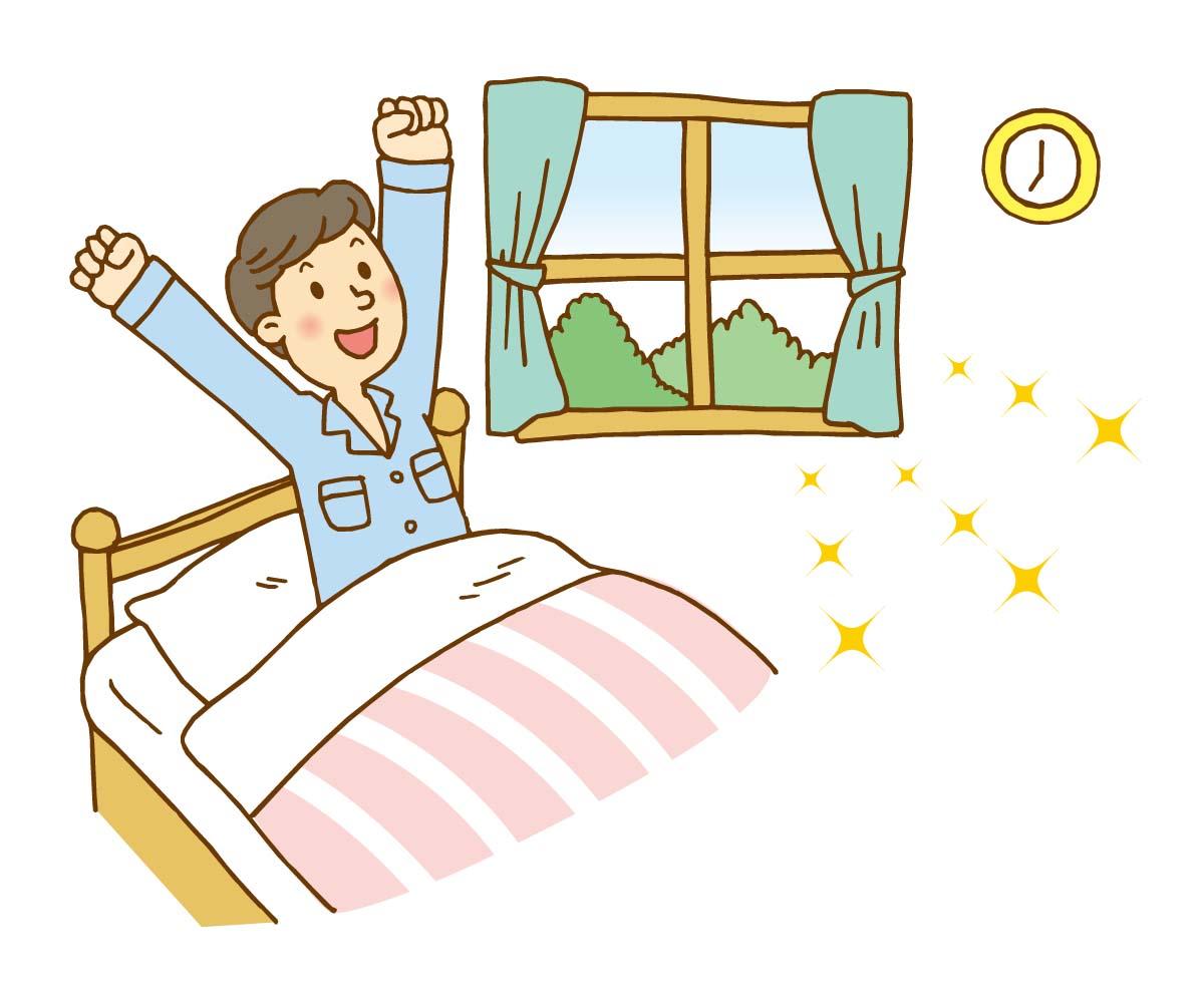 寝室 エアコンによる乾燥やだるさを軽減