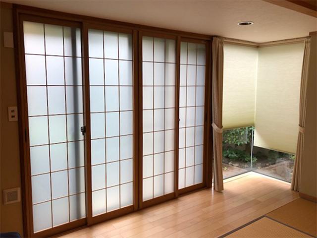 障子の張替えではなく、和室用内窓で断熱!(東京都狛江市)