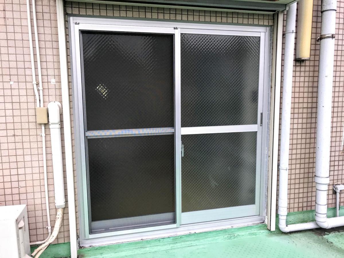 窓の動きが悪い!病院の窓交換リフォーム!(川崎市高津区)