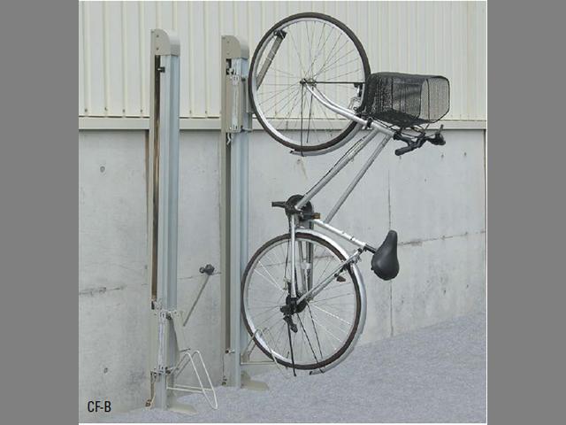 こんな自転車の止め方アリ!?アリなんです!