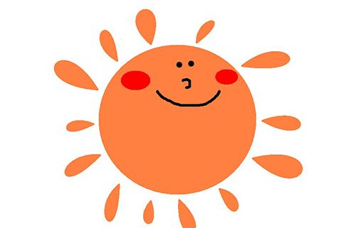 2-4太陽を見方に