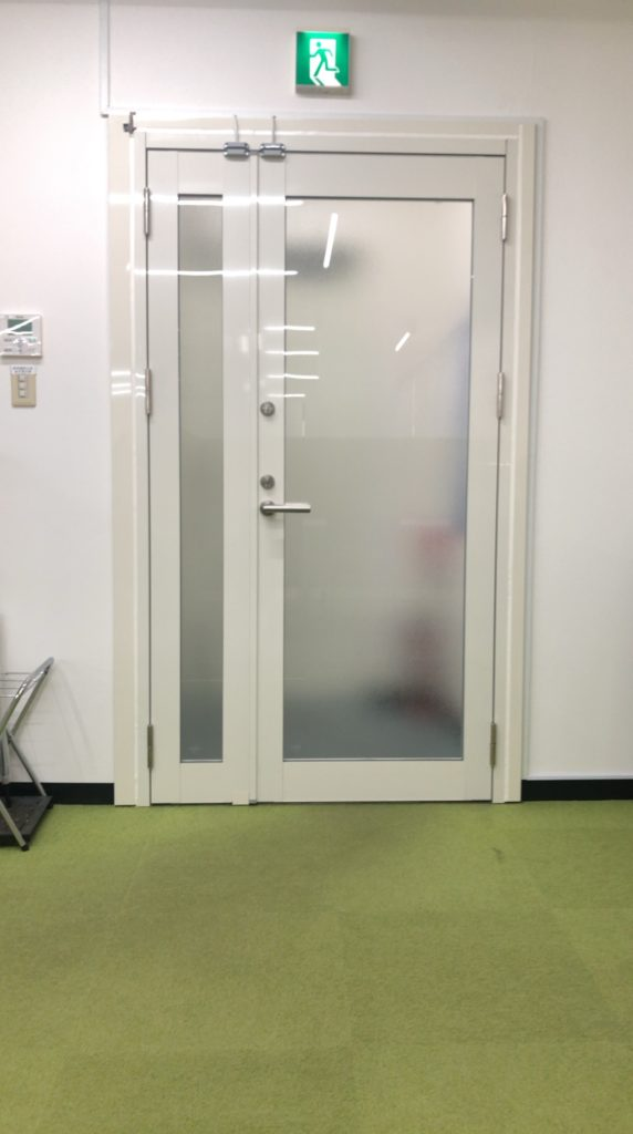 玄関ドア合成前