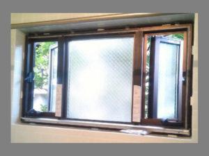 浴室窓リフォーム