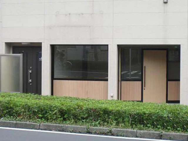 イメージ通り!店舗入口のリフォーム(川崎市)