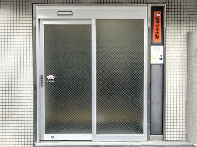 ビルの手動ドアを自動ドアに交換!ドアリフォーム