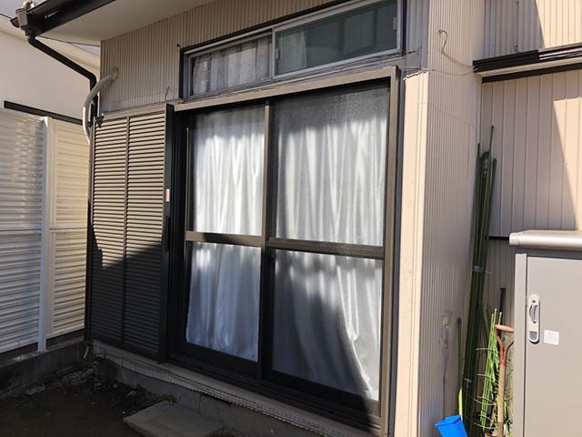 建て付けの悪い窓・雨戸の交換(横浜市港北区)