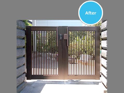 事例紹介に「押すだけで開けられる!門扉の交換(神奈川県藤沢市)」を追加しました。