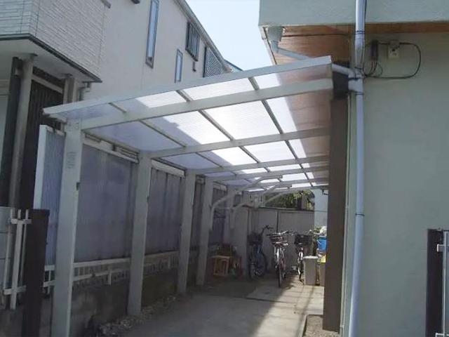 カーポートの屋根の張り替え!