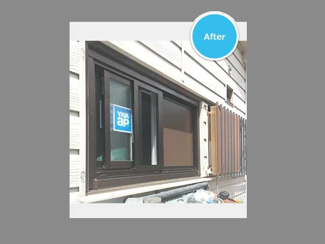 窓の種類の変更もOK!窓まるごと交換