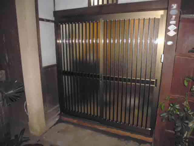 木製引戸の交換(横浜市港北区)
