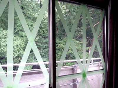 窓ガラスなどの台風対策&修理方法まとめ!