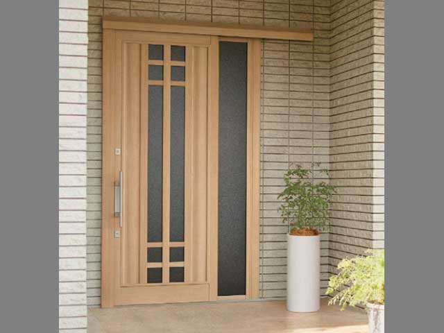 玄関ドアリフォーム ドアを引き戸に変更できる?