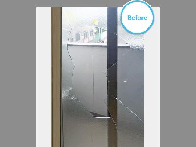 事例紹介に「割れたLow-Eペアガラスを交換!(神奈川県平塚市)」を追加しました。
